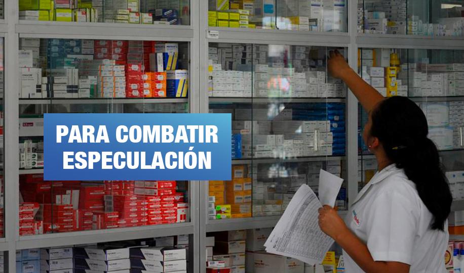 Elevar precios de medicamentos durante emergencia podría sancionarse con 6 años de cárcel