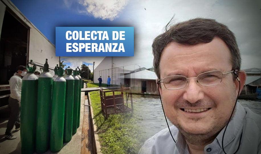 Iquitos: El llamado solidario que recaudó más de S/ 1 millón para una planta de oxígeno