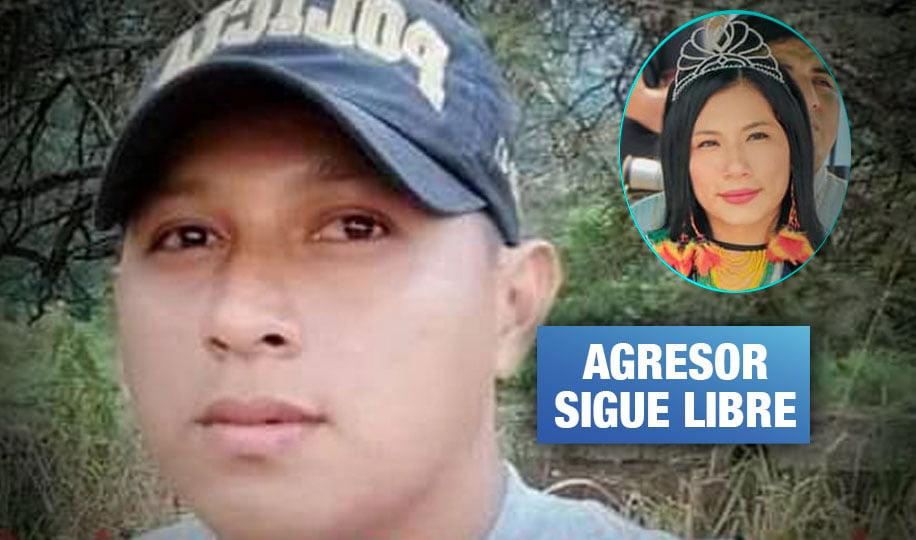 Amazonas: Suboficial PNP agrede a su pareja y le causa grave daño en un ojo