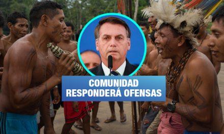 Tribunal concede a indígenas derecho de réplica ante racismo de Bolsonaro