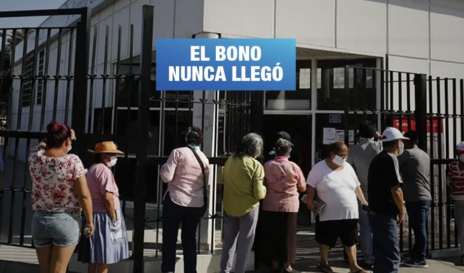 Más de 214 mil familias en pobreza y pobreza extrema no recibieron bono