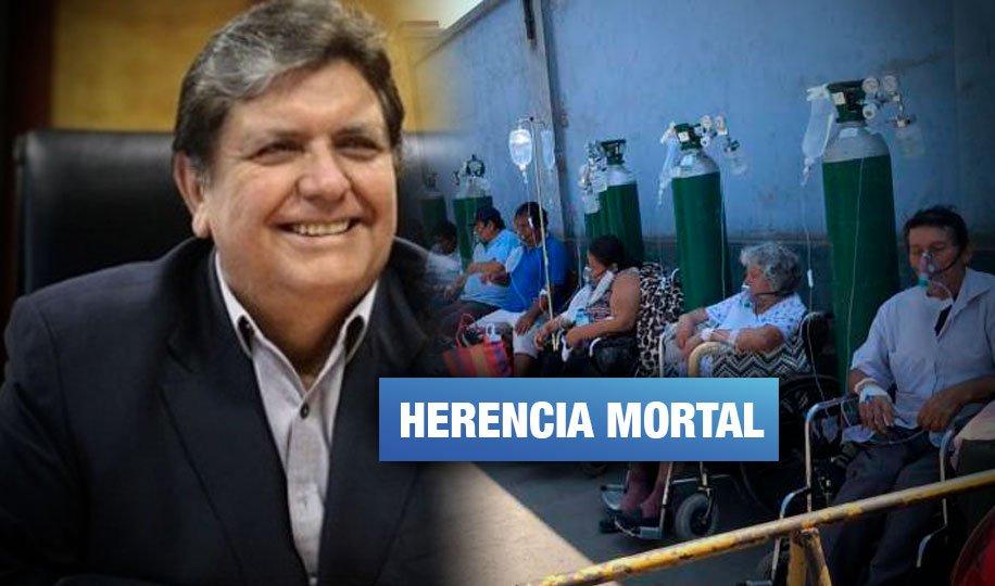 Gobierno de García permitió monopolio de oxígeno medicinal