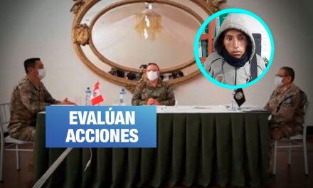 Inspectoría del Ejército: Habrá sanciones por desaparición de soldado en Tacna