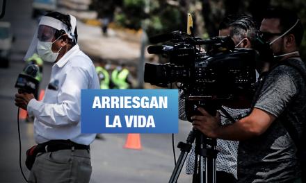 Diez periodistas peruanos murieron por COVID-19 y decenas enfrentan despidos arbitrarios
