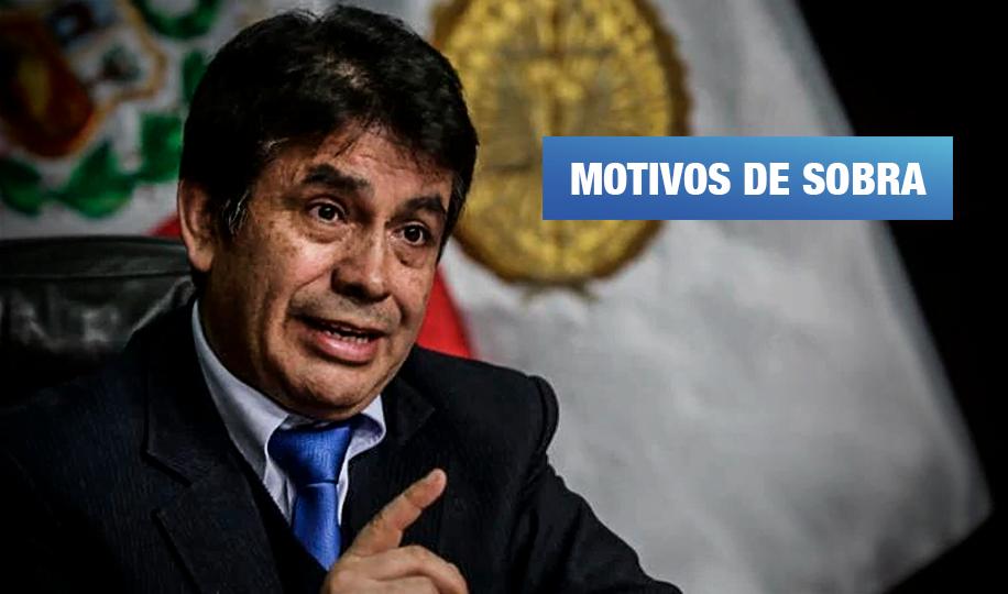 Tomás Gálvez, el fiscal supremo que debe irse, por Cruz Silva