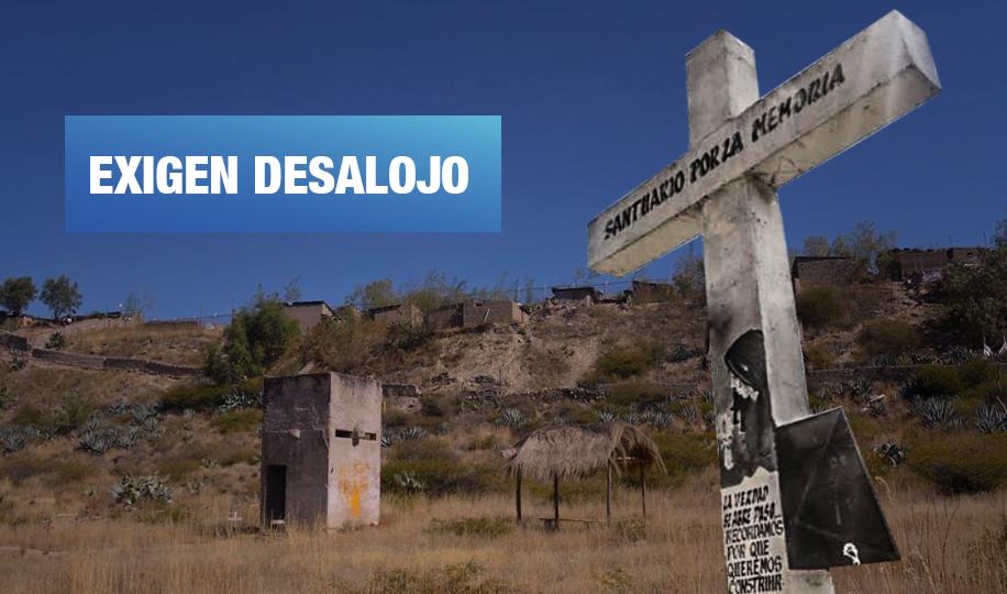 Ayacucho: Denuncian a invasores en terrenos del Santuario de la Memoria en La Hoyada
