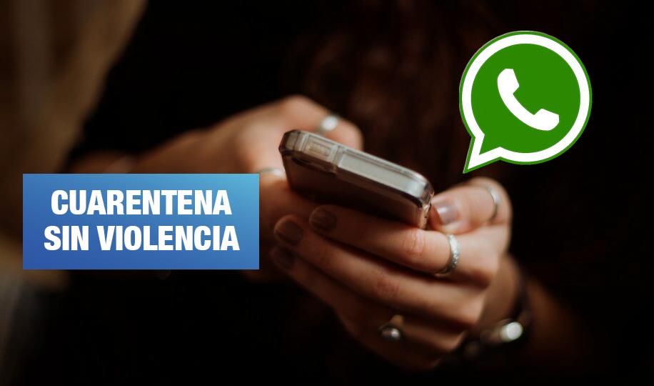 Violencia a la mujer: Denuncias son recibidas por Whatsapp y correo