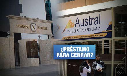 Universidades privadas sin licencia también recibieron dinero de Reactiva Perú