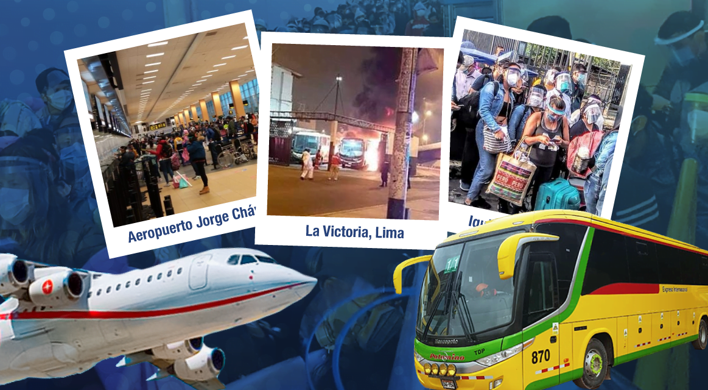 [GRÁFICA] Nueva «normalidad»: Reiniciaron viajes aéreos y terrestres