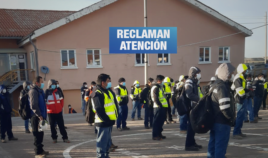 Trabajadores de minera Antapaccay exigen que les tomen pruebas de COVID – 19
