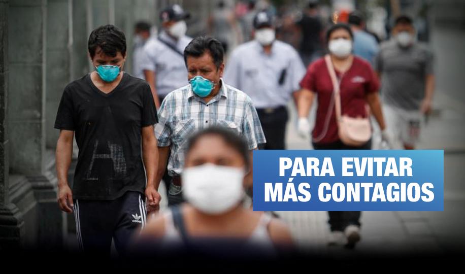 Defensoría: Estado y sector privado deben distribuir mascarillas gratuitas