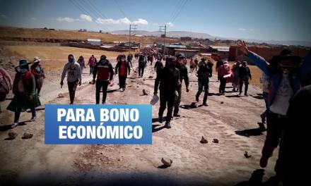 Espinar: Comunidades en huelga indefinida piden usar fondos del convenio con minera Glencore