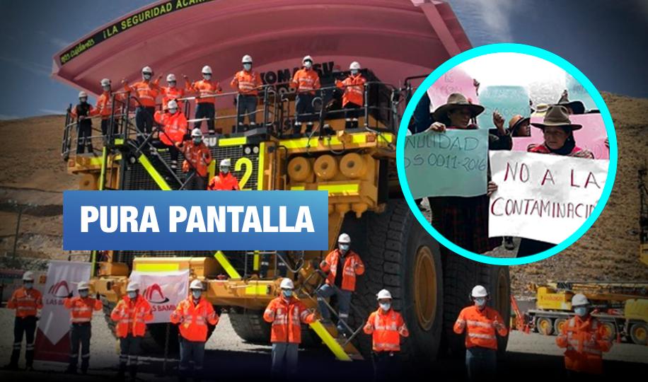 Las Bambas: Pintan camión de rosado pero sus operaciones mineras afectan derechos de mujeres