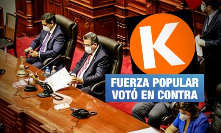 Reforma política para impedir que sentenciados sean candidatos espera segunda votación