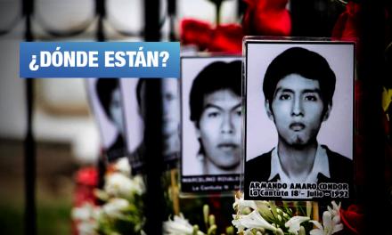 Nos faltan 5 estudiantes: La justicia pendiente del caso La Cantuta 28 años después