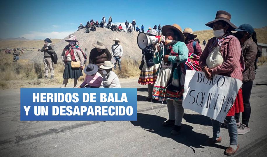 Gobierno reinicia diálogo hoy en Espinar tras violenta represión policial