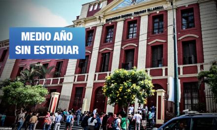 Villarreal: Alumnos protestan por matrícula improvisada y retraso en inicio de clases virtuales