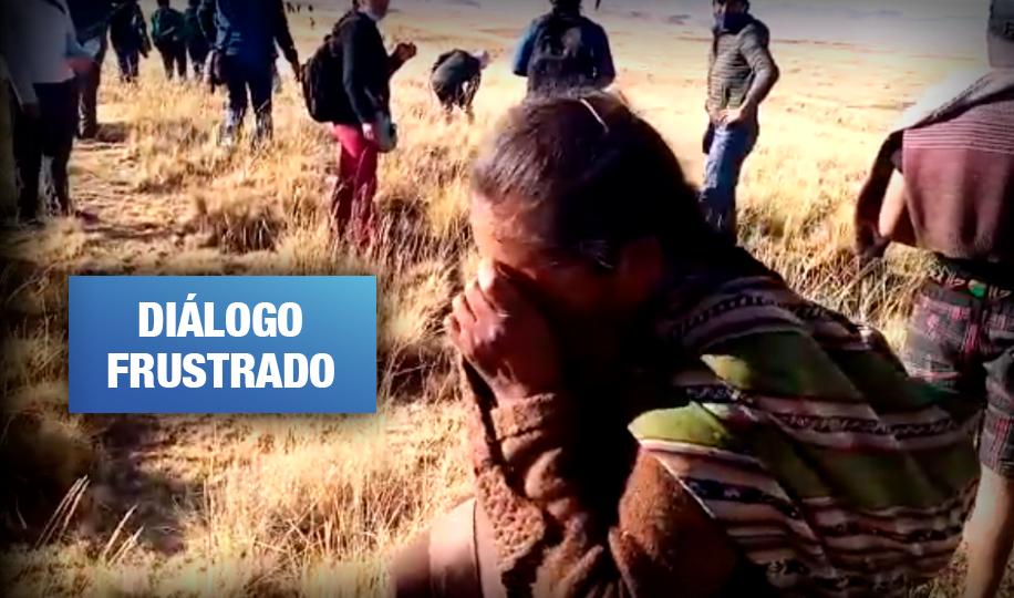 Conflictos en Espinar: PCM suspende comisión de diálogo