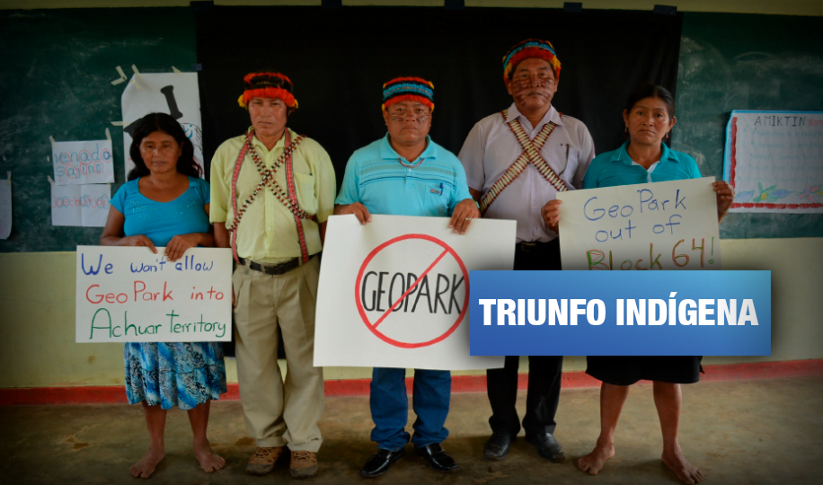 Petrolera Geopark se retira del Lote 64 tras denuncia de comunidades wampis y achuar