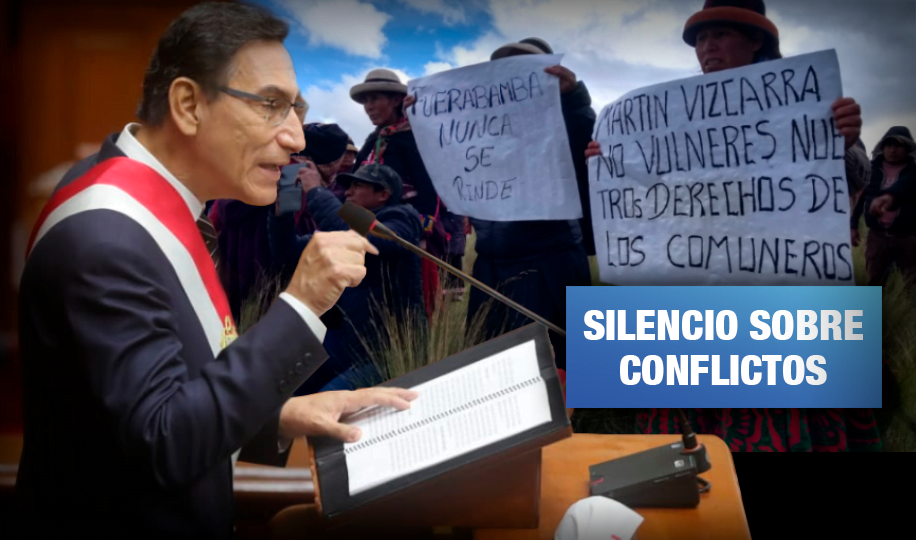 Vizcarra habla de reactivación minera pero nada sobre Espinar, Tía María y casi 3 mil trabajadores con COVID-19