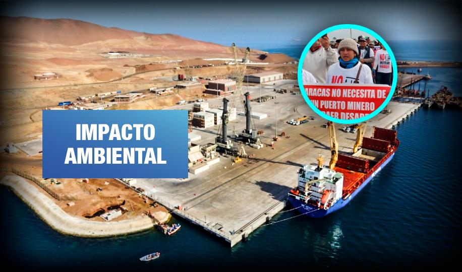 Reserva Nacional de Paracas: Alertan riesgos por almacenamiento de minerales en el puerto