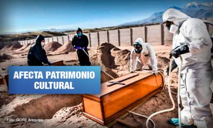 """Jueza dispone cierre de cementerio """"COVID"""" de Arequipa"""