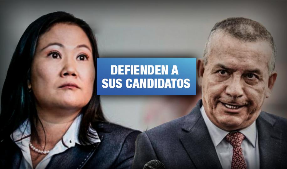 Fuerza Popular, Podemos y UPP bloquean reforma que podría impedir a sus líderes postular en 2021