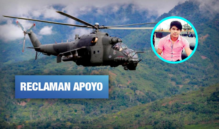 Comunidad awajún pide traslado de restos de familiar fallecido en accidente de helicóptero