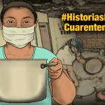 Mujeres coraje combaten el hambre con ollas populares