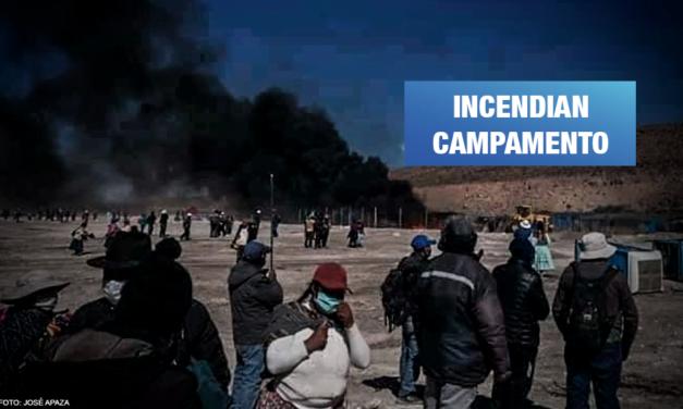Aimaras protestan para detener proyecto hídrico entre Puno y Tacna