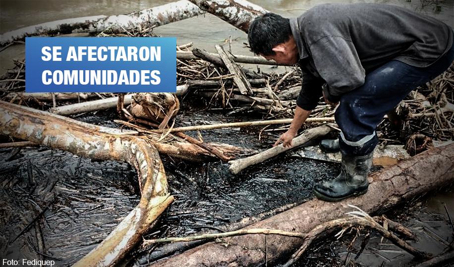 Lote 192: ocho derrames de petróleo en la selva peruana durante la pandemia