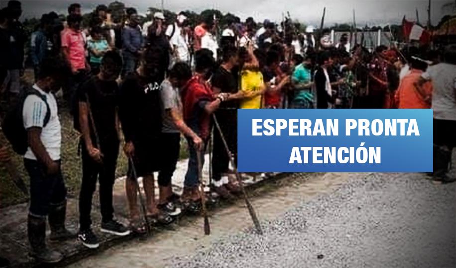 Protesta que dejó tres indígenas muertos continúa en Lote 95 y Estación 5 en Loreto