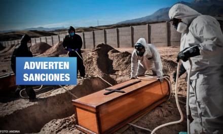 Poder Judicial vuelve a cerrar cementerio COVID en Arequipa
