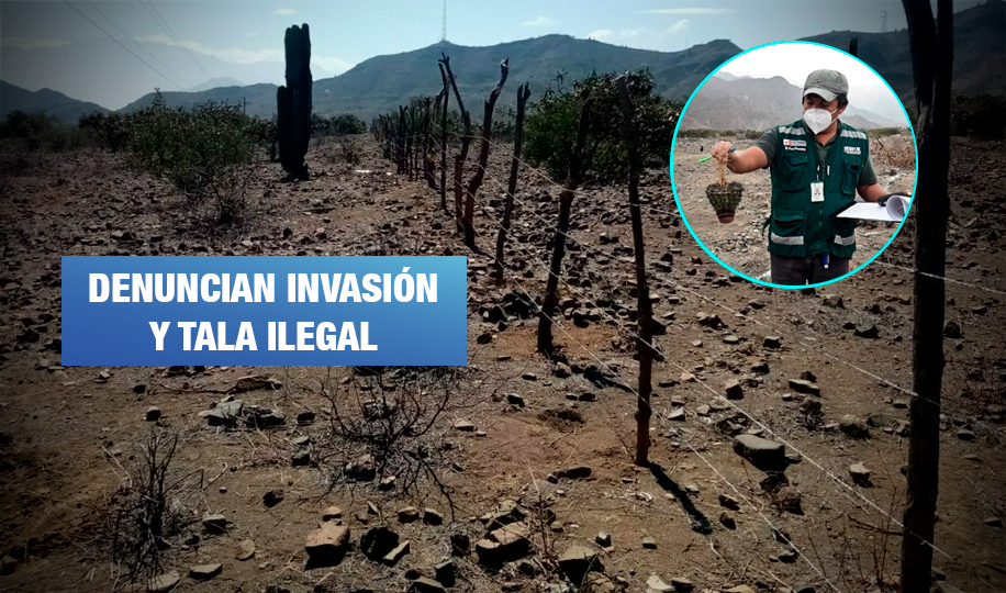 Investigan daños ambientales en Reserva Ecológica de Chaparrí en Lambayeque