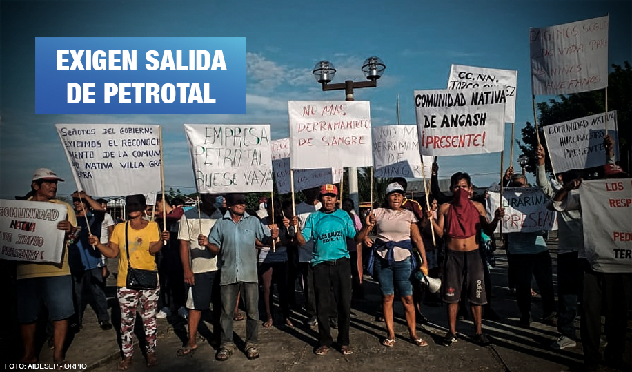 Federaciones indígenas se declaran en movilización permanente en Lote 95