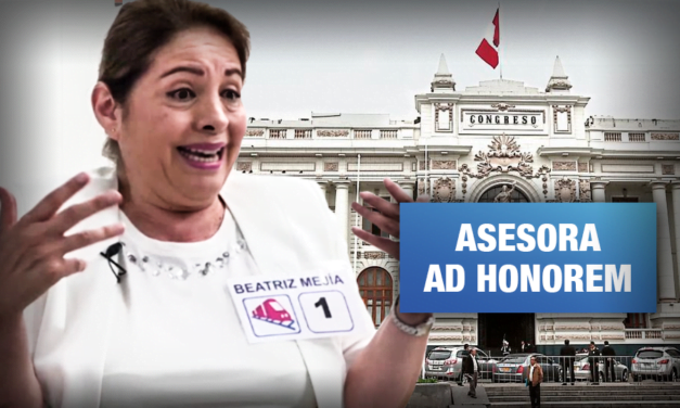 Vocera de Con Mis Hijos No Te Metas elabora proyectos de congresista de Acción Popular