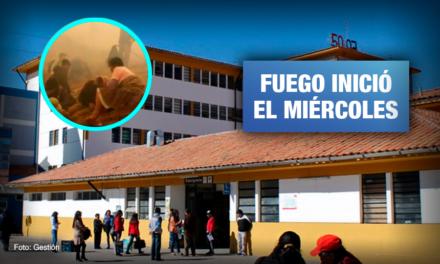 Ocho personas mueren al tratar de controlar incendio en Cusco