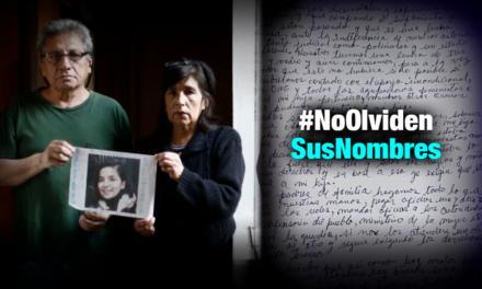 Padres de Solsiret a familiares de desaparecidas: No bajen la guardia