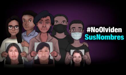 No olviden sus nombres: Los familiares que buscan a las mujeres desaparecidas