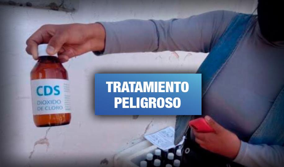Investigan a cinco médicos por recomendar dióxido de cloro