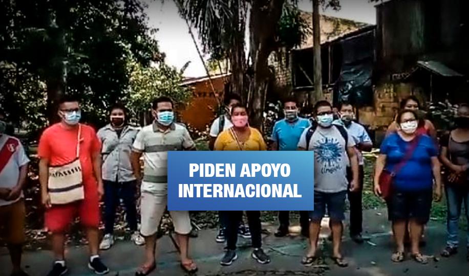 Dirigentes indígenas de Loreto denuncian persecución y hostigamiento policial