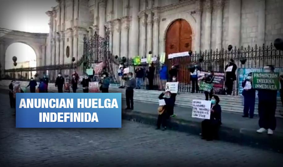 COVID-19: Trabajadores de salud protestan a nivel nacional por falta de pagos y seguridad sanitaria