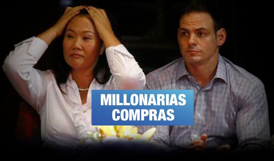 Primos de Keiko Fujimori compraron 7 propiedades a empresa de Mark Vito