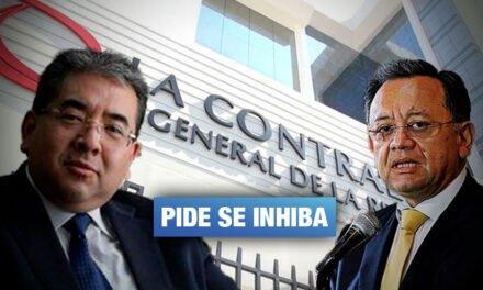 Contralor advierte posible conflicto de intereses de congresista Alarcón en Fiscalización