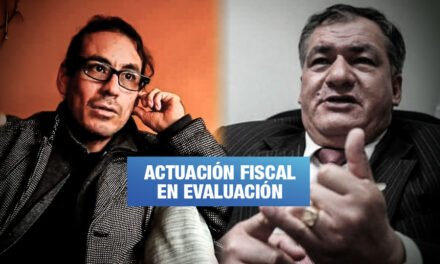 Ministerio Público abre investigación a fiscal que archivó denuncias contra Guillermo Castrillón