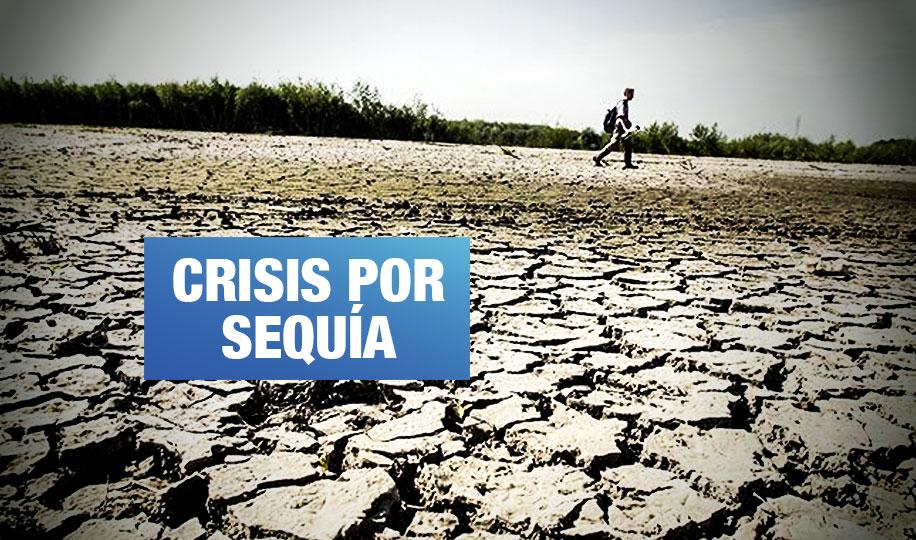 Gobierno declara en emergencia 136 distritos del norte del país por falta de agua