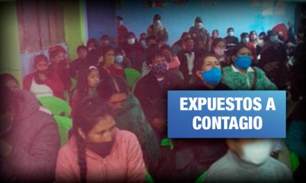 Chilca: Intervienen culto y boda evangélica con asistentes sin mascarilla
