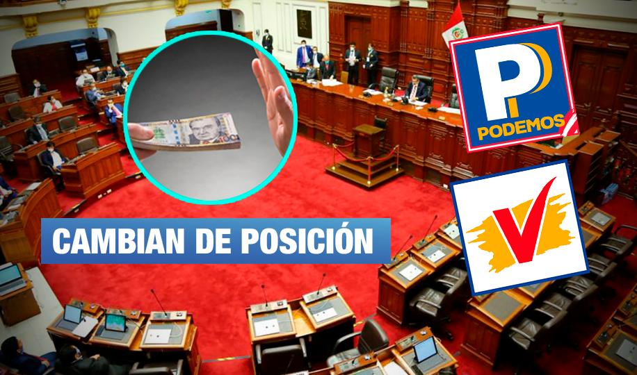 Bancadas retroceden: Podemos y UPP en contra de prohibir postulación de sentenciados