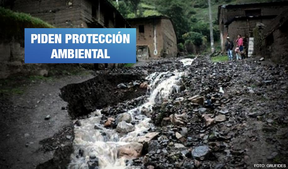 Afectados por metales pesados presentan demanda de amparo contra el Estado peruano