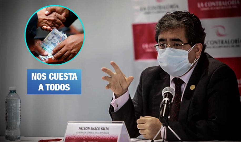 Contraloría: Perú perdió S/ 23 mil millones por corrupción e inconducta funcional en 2019
